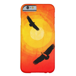 Circling Vultures Desert Sun Barely There iPhone 6 Case