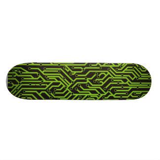 Circuit Board 21.6 Cm Skateboard Deck