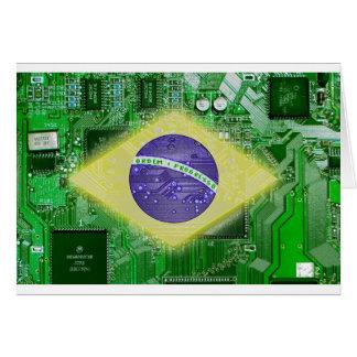 circuit board Brazil Card