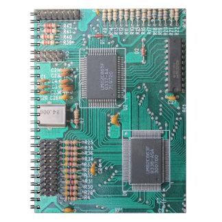 Circuit board, computer motherboard note pad spiral notebooks