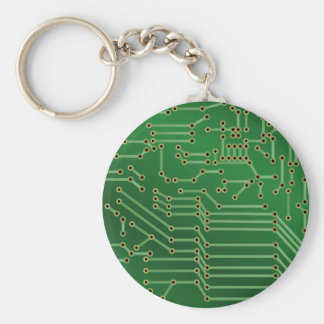 Circuit board design key ring