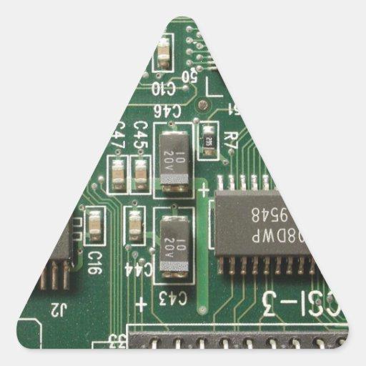 Circuit Board Design Sticker