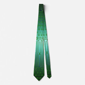 Circuit Board Father's Day Tie