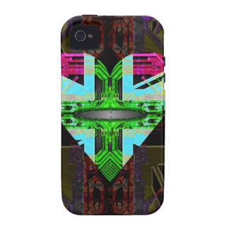 circuit board Flag, Union Jack. Vibe iPhone 4 Cover