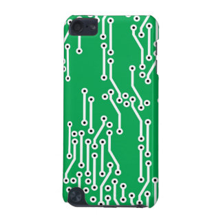 Circuit Board (Green/White) iPod Touch Case