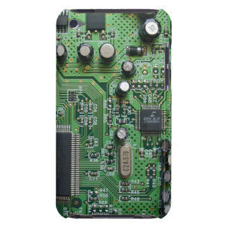 Circuit Board Ipod Case Barely There iPod Case