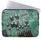 "Circuit board laptop sleeve 13"""