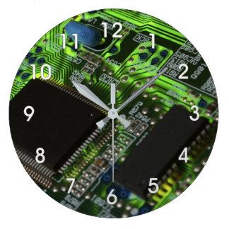 circuit board large clock