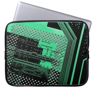 Circuit Board Neoprene Laptop Sleeve 15 inch