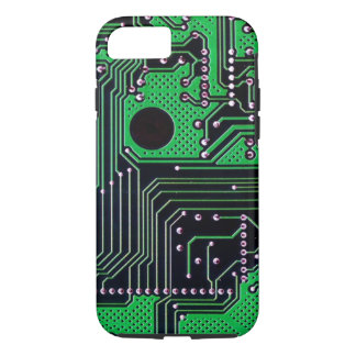 Circuit board (pcb) - green colour iPhone 8/7 case