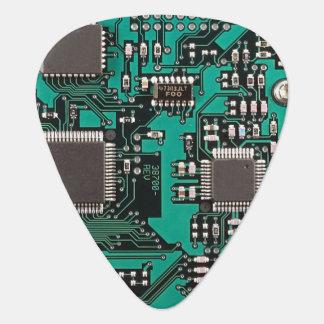 Circuit board plectrum
