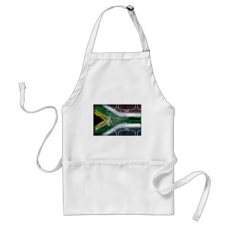 circuit board South Africa (Flag) Apron