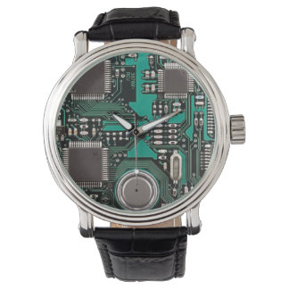 Circuit board watch