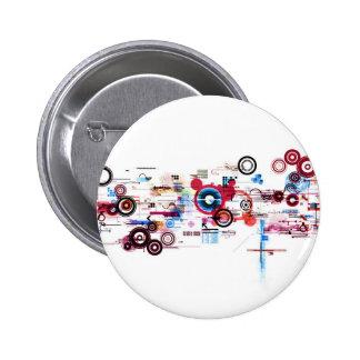 Circuit Board - White Button