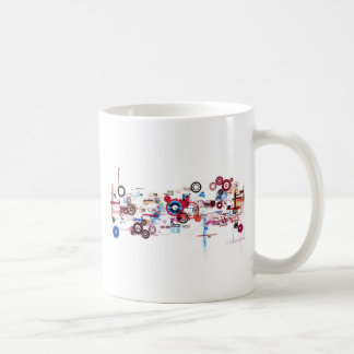 Circuit Board - White Mug