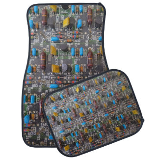 Circuit Car Floor Mats (Full Set)