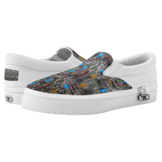 Circuit Custom Zipz Slip On Shoes,  Men & Women Printed Shoes