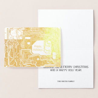 Circuit Gold Foil Card