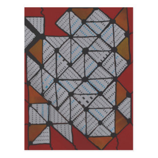 Circuit grid postcard