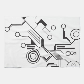 Circuit Tea Towel