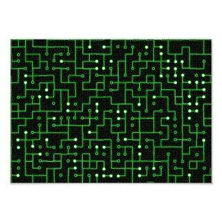 Circuitboard Photo Print