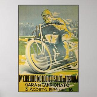 Circuito Motociclistico-1924 Poster