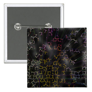 Circuitry 15 Cm Square Badge