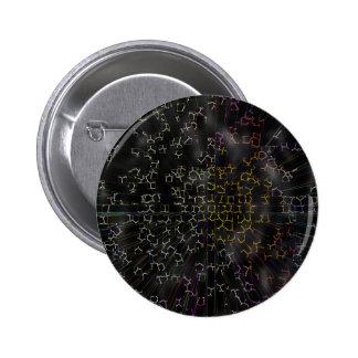 Circuitry 6 Cm Round Badge