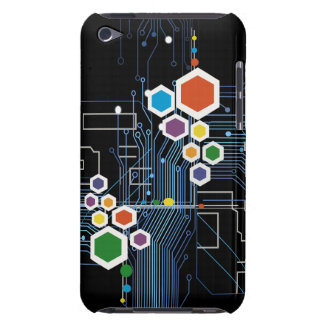 Circuitry Barely There iPod Case