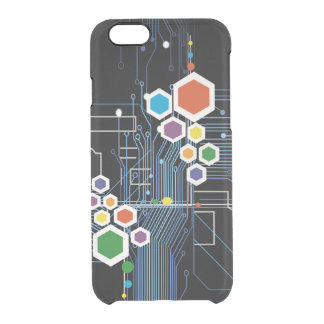 Circuitry Clear iPhone 6/6S Case
