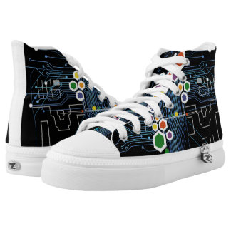 Circuitry Printed Shoes