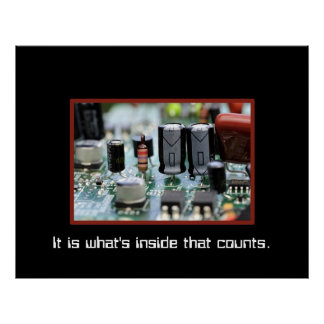 circuits... It is what's inside that counts Poster