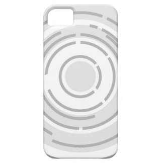Circular Abstract Background iPhone 5 Cover