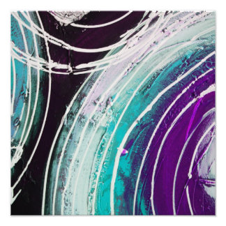 Circular Abstract Painting Photo Print