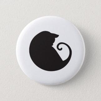 Circular Cat Button