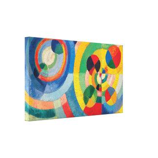 Circular Forms by Robert Delaunay Canvas Print