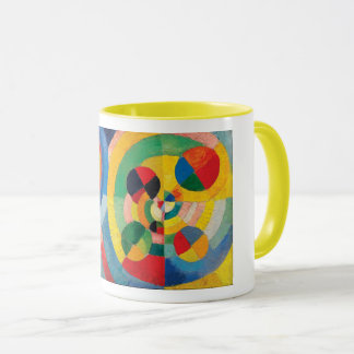 Circular Forms by Robert Delaunay Mug