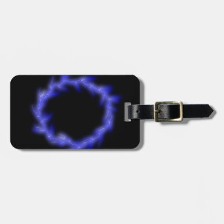 Circular Lightning Luggage Tag