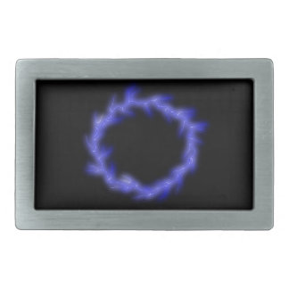 Circular Lightning Rectangular Belt Buckles