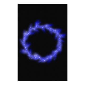 Circular Lightning Stationery