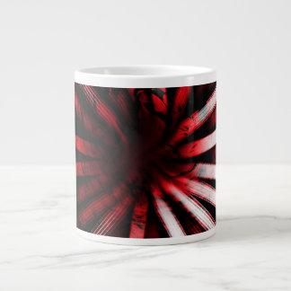 Circular Lines Red - Coffee Mug