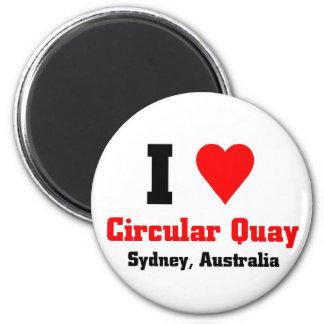 Circular Quay Australia Magnet
