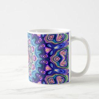 Circular Spectral Kaleidoscope Coffee Mug