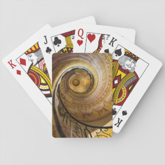 Circular spiral staircase, Austria Playing Cards