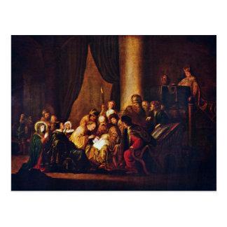 Circumcision Of Jesus By Wet D. Ä. Jacob Willemsz. Postcard