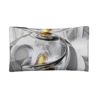 Circumvoluted Abstract Cosmetic Bag