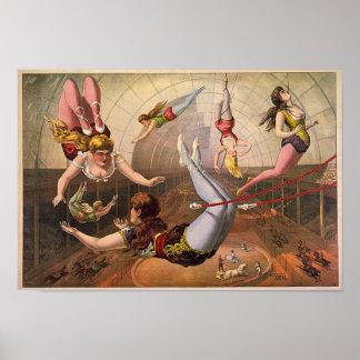 Circus-1890 Print