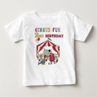 Circus 2nd Birthday Baby T-Shirt
