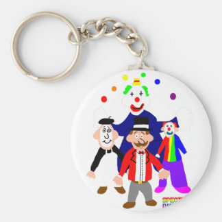Circus Acts Key Ring