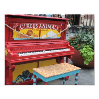 Circus Animals Piano Photo